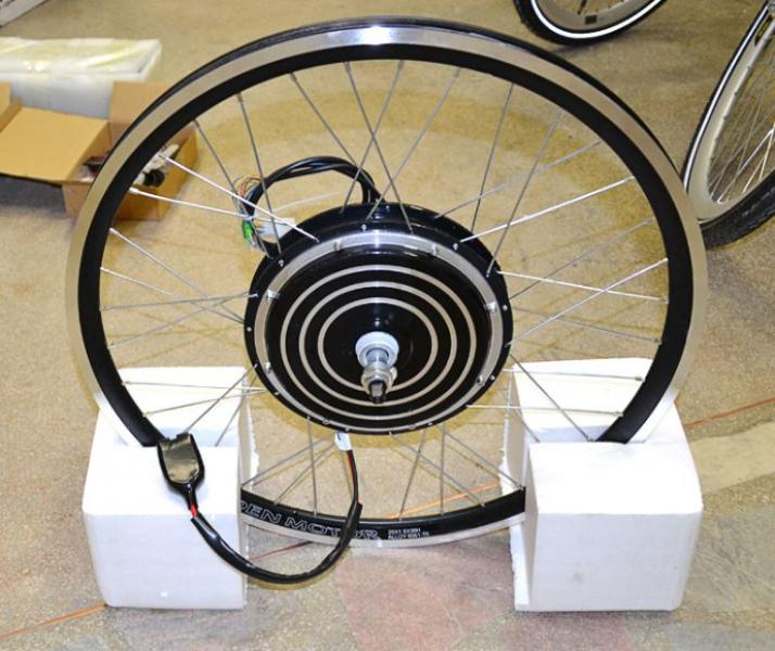 Самодельное мотор колесо велосипеда