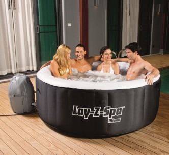 Бассейн Best Way Lay-Z-Spa Miami 180 x 65 см (54123)