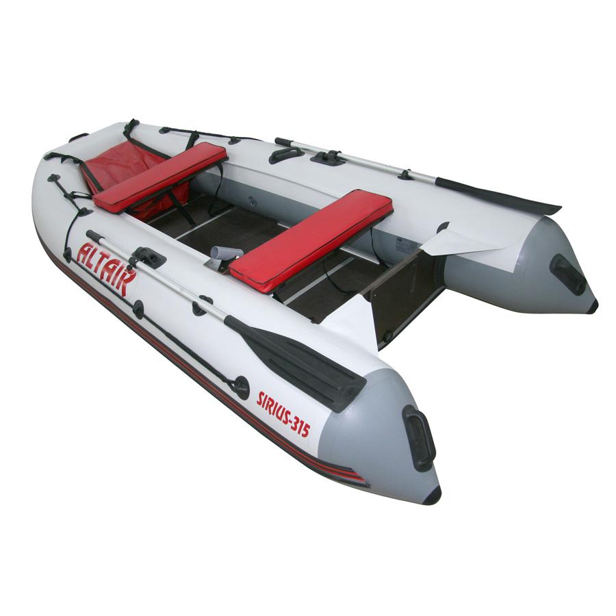обзор лодки сириус 315