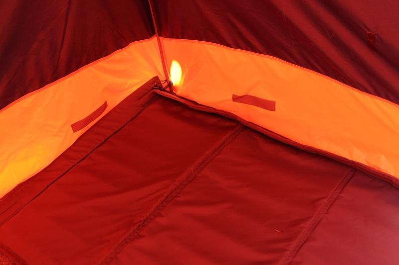 Теплые полы для зимних палаток