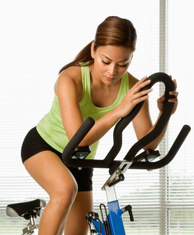 Интервальная на велотренажере для похудения